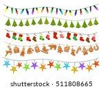 celebration christmas new... | Shutterstock .eps vector #511808665