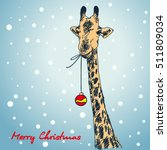 Christmas Card Hand Drawn...