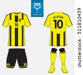 set of soccer kit or football... | Shutterstock .eps vector #511810459