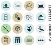 set of 16 consumer journey...   Shutterstock .eps vector #511832959