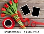 Red Tulips Bouquet  Photo...