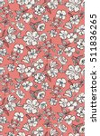 seamless floral pattern in... | Shutterstock .eps vector #511836265