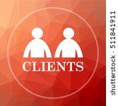 Clients Icon. Clients Website...