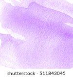 violet white watercolor brush... | Shutterstock .eps vector #511843045