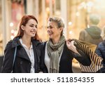 in the city  focus on a... | Shutterstock . vector #511854355