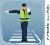 Traffic Cop  Officer Of Traffi...