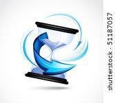 hourglass   Shutterstock .eps vector #51187057