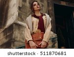 high fashion clothing.... | Shutterstock . vector #511870681