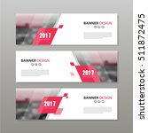 banner business layout template ... | Shutterstock .eps vector #511872475