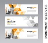 banner business layout template ...   Shutterstock .eps vector #511872511