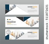 banner business layout template ... | Shutterstock .eps vector #511872631