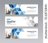 banner business layout template ...   Shutterstock .eps vector #511872844
