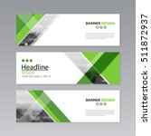 banner business layout template ... | Shutterstock .eps vector #511872937