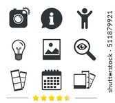 hipster photo camera icon.... | Shutterstock .eps vector #511879921