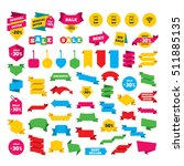 web stickers  banners and... | Shutterstock .eps vector #511885135