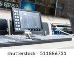 tv live broadcast  | Shutterstock . vector #511886731