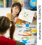portrait of elementary age... | Shutterstock . vector #51189670