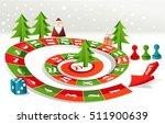 advent calendar   christmas... | Shutterstock .eps vector #511900639