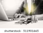 double exposure of... | Shutterstock . vector #511901665