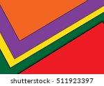 illustration of unusual modern...   Shutterstock .eps vector #511923397