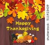 happy thanksgiving....   Shutterstock .eps vector #511923439