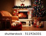 christmas tree and christmas... | Shutterstock . vector #511926331