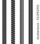 black prints of tire cars ...   Shutterstock .eps vector #511951951