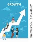 business growth concept... | Shutterstock . vector #511960069