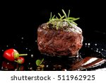 premium beef steak | Shutterstock . vector #511962925