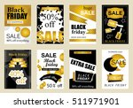collection of sale banners... | Shutterstock .eps vector #511971901