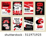 collection of sale banners... | Shutterstock .eps vector #511971925