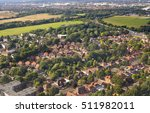 Aerial View Of London Suburbs ...
