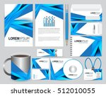 stationery design template | Shutterstock .eps vector #512010055