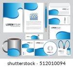 stationery design template   Shutterstock .eps vector #512010094