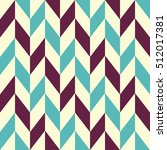 retro geometric seamless... | Shutterstock .eps vector #512017381