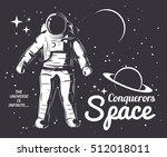 traveler universe. universe... | Shutterstock .eps vector #512018011