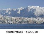 North Vancouver Skyline - stock photo