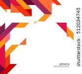 minimalistic design  creative... | Shutterstock .eps vector #512034745