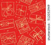 christmas present boxes....   Shutterstock .eps vector #512052949