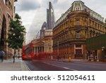 London At Bank Station  Red Bu...