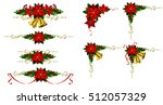 christmas elements for your... | Shutterstock .eps vector #512057329