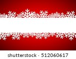christmas snowflake background... | Shutterstock .eps vector #512060617