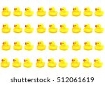 Yellow Toy Rubber Duck Mouth ...