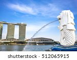 singapore   october 27   the... | Shutterstock . vector #512065915