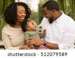 happy family  loving parents