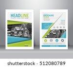 abstract vector modern flyers... | Shutterstock .eps vector #512080789