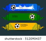 Set Of Football Banners. Web...