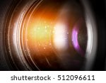 flare lens camera background... | Shutterstock . vector #512096611