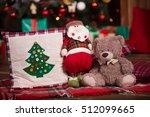 christmas tree decoration close ... | Shutterstock . vector #512099665