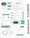 set of ui and ux kit elements....